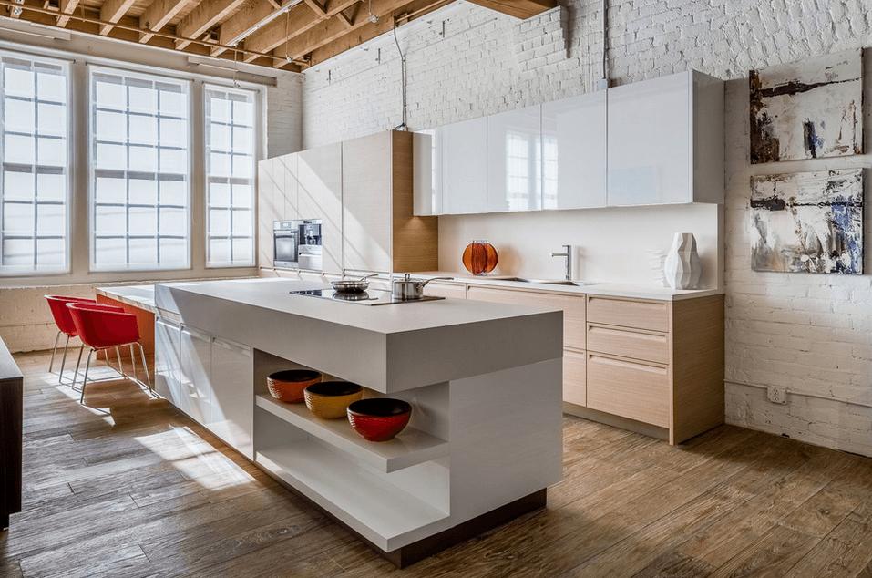 Дизайн кухонного острова. Фото 29