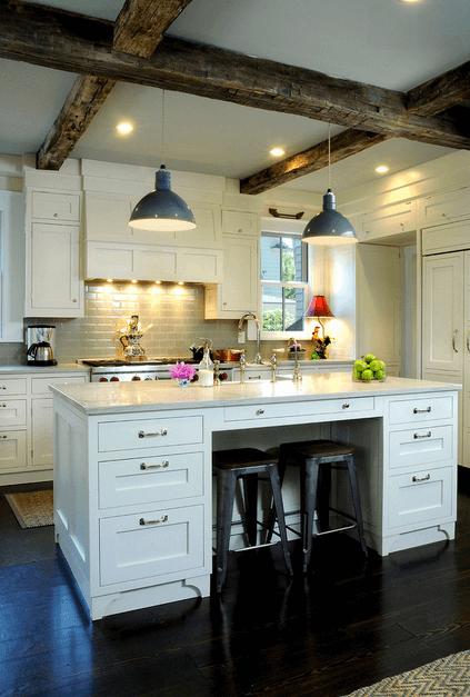 Дизайн кухонного острова. Фото 30