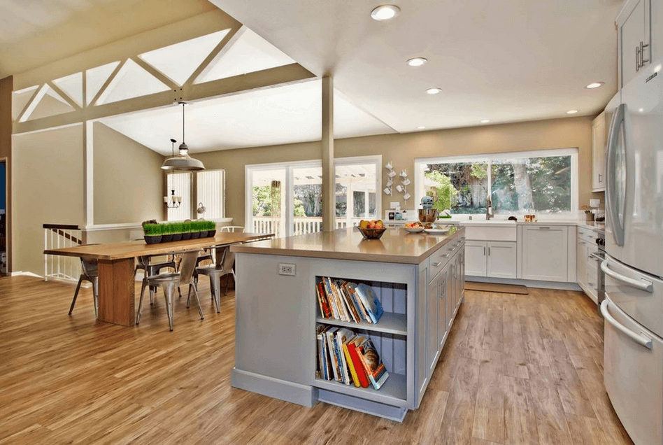 Дизайн кухонного острова. Фото 31