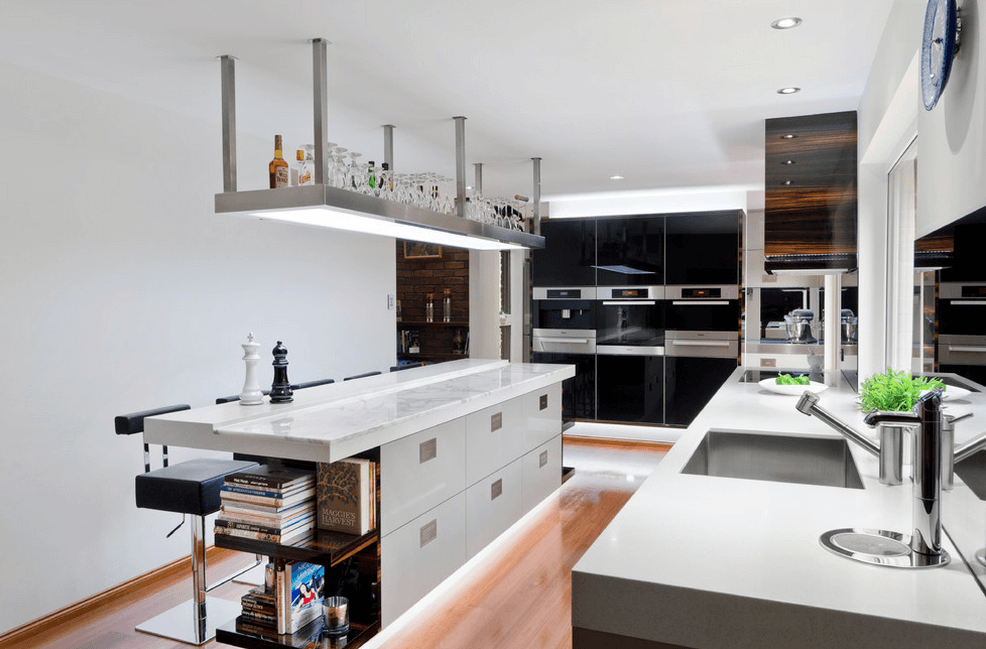 Дизайн кухонного острова. Фото 32