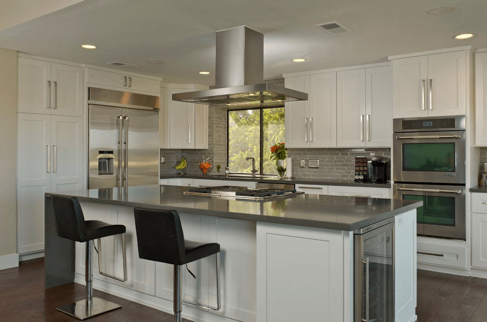 Дизайн кухонного острова. Фото 38
