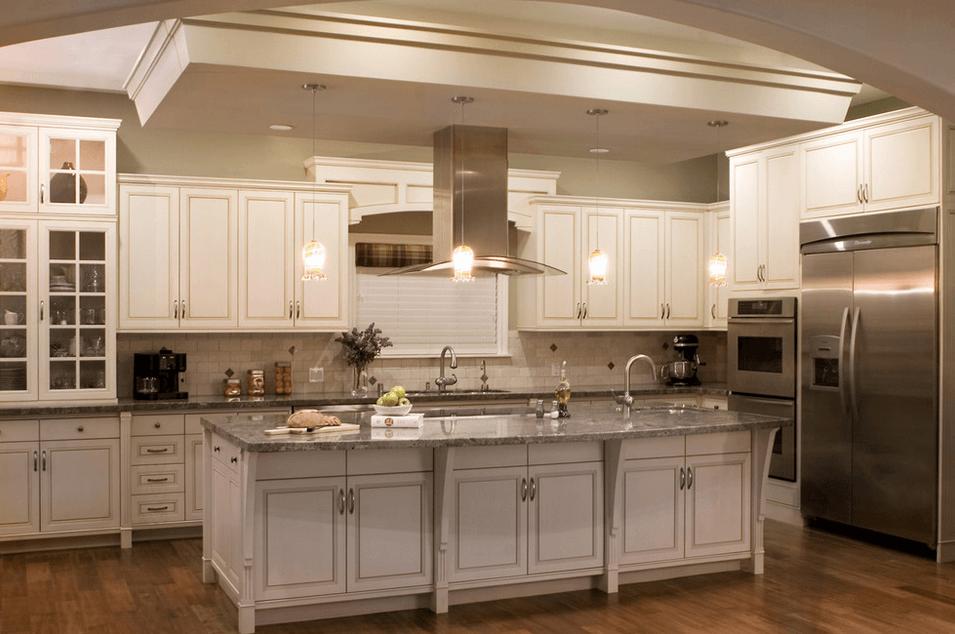 Дизайн кухонного острова. Фото 39