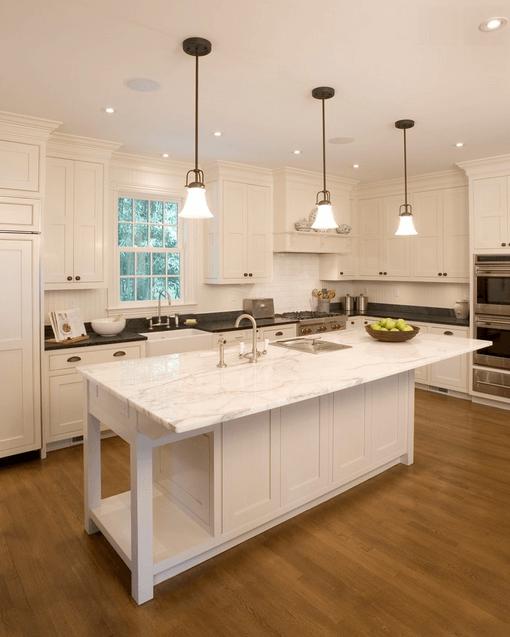 Дизайн кухонного острова. Фото 42