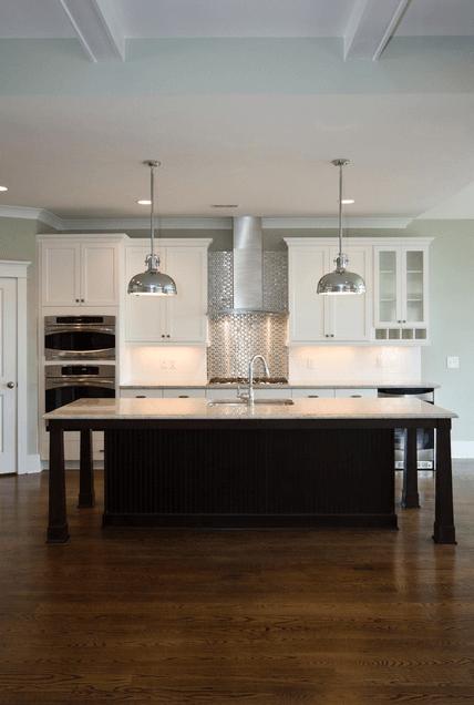 Дизайн кухонного острова. Фото 44