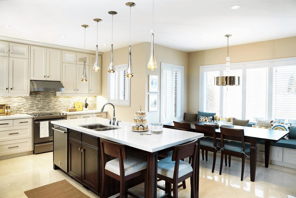 Дизайн кухонного острова. Фото 45