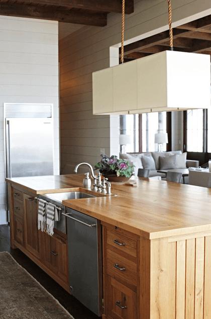 Дизайн кухонного острова. Фото 48