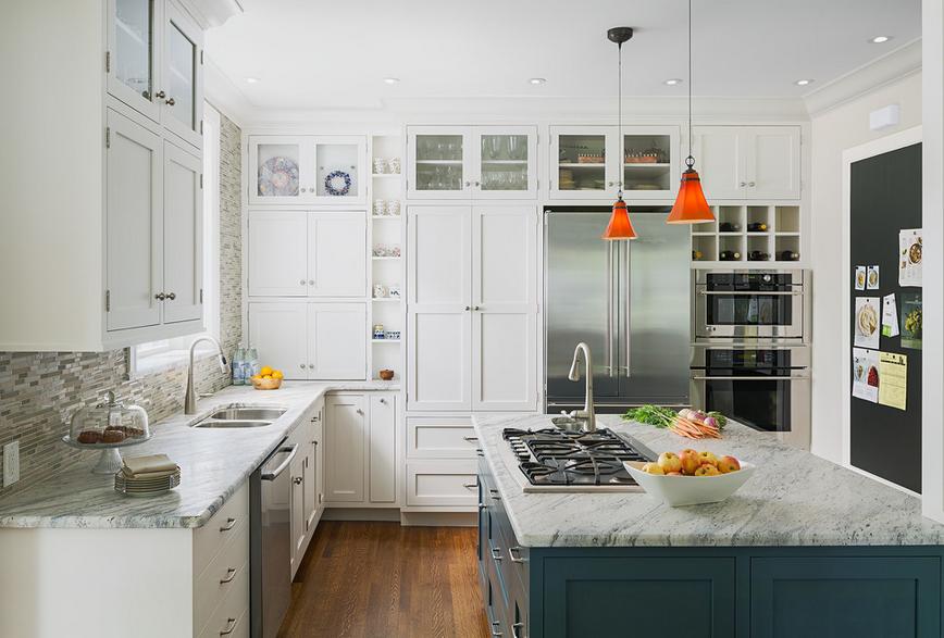 Дизайн кухонного острова. Фото 50