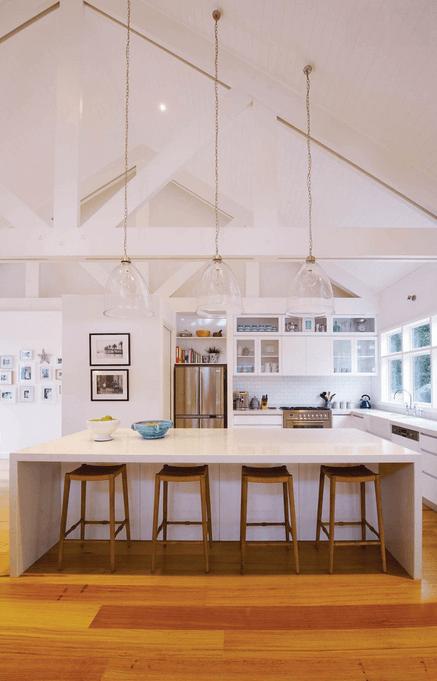 Дизайн кухонного острова. Фото 54