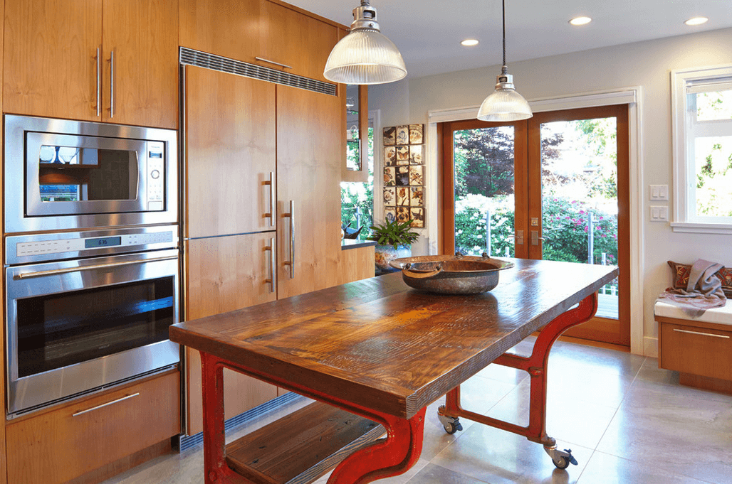 Дизайн кухонного острова. Фото 55