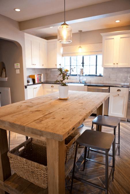 Дизайн кухонного острова. Фото 56