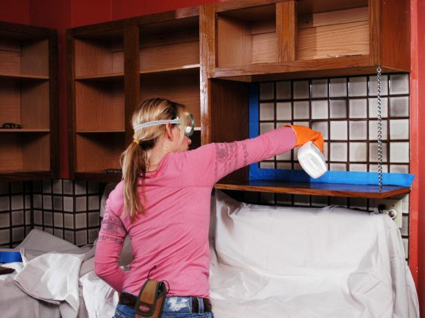Обезжиривание поверхности перед покраской