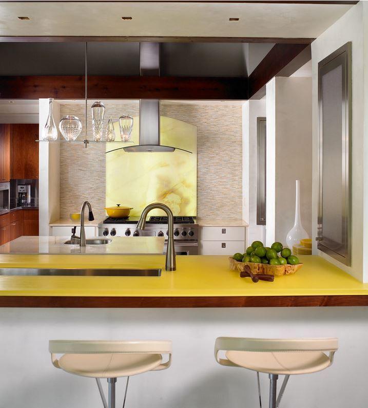 Оформление кухонных столешниц. Фото 3