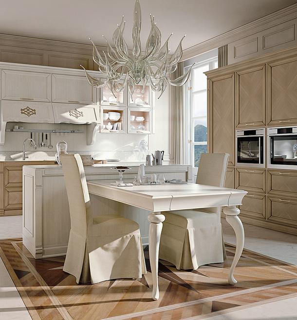 Кухонный гарнитур Taormina из натурального дерева