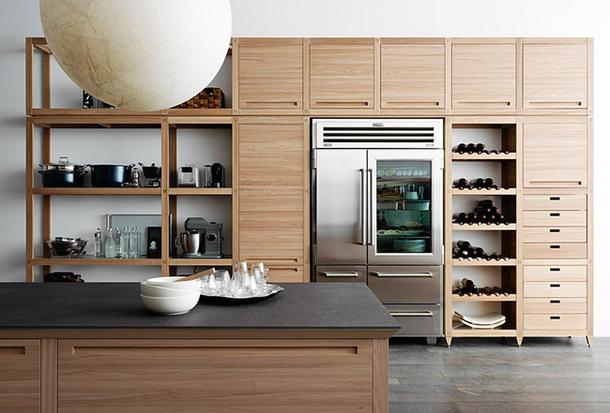 Деревянный мебельный гарнитур Eurocucina