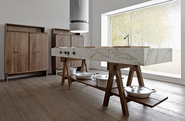 Функциональный дизайн кухни Convivio