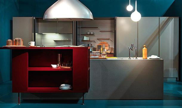 Дизайн модульной кухни Schiffini