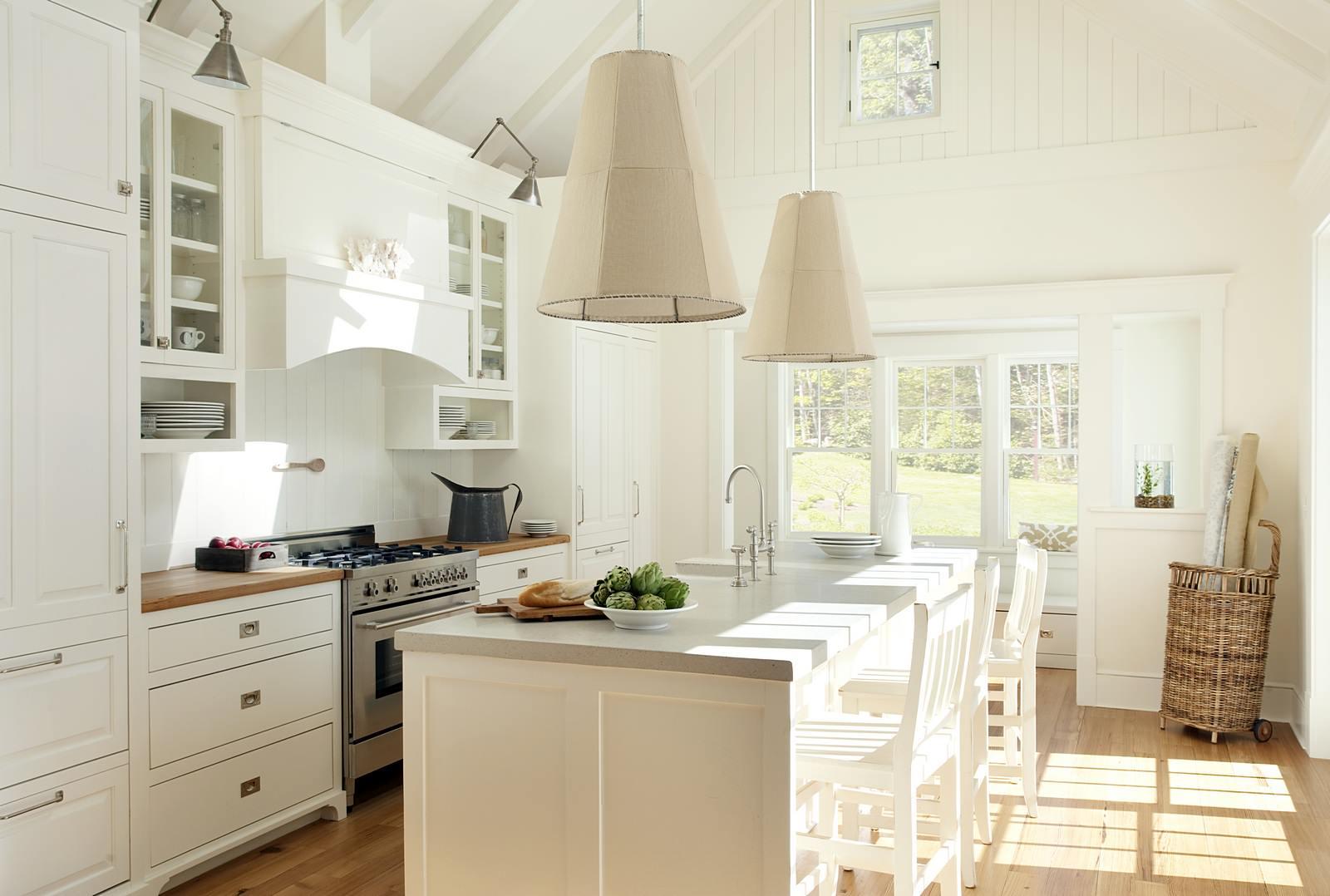 Модные светильники для кухни