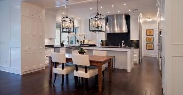 Главное, выбрать идеальное освещение для кухонной комнаты