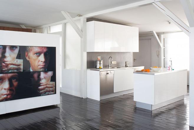 Уникальный дизайн интерьера кухни в стиле лофт