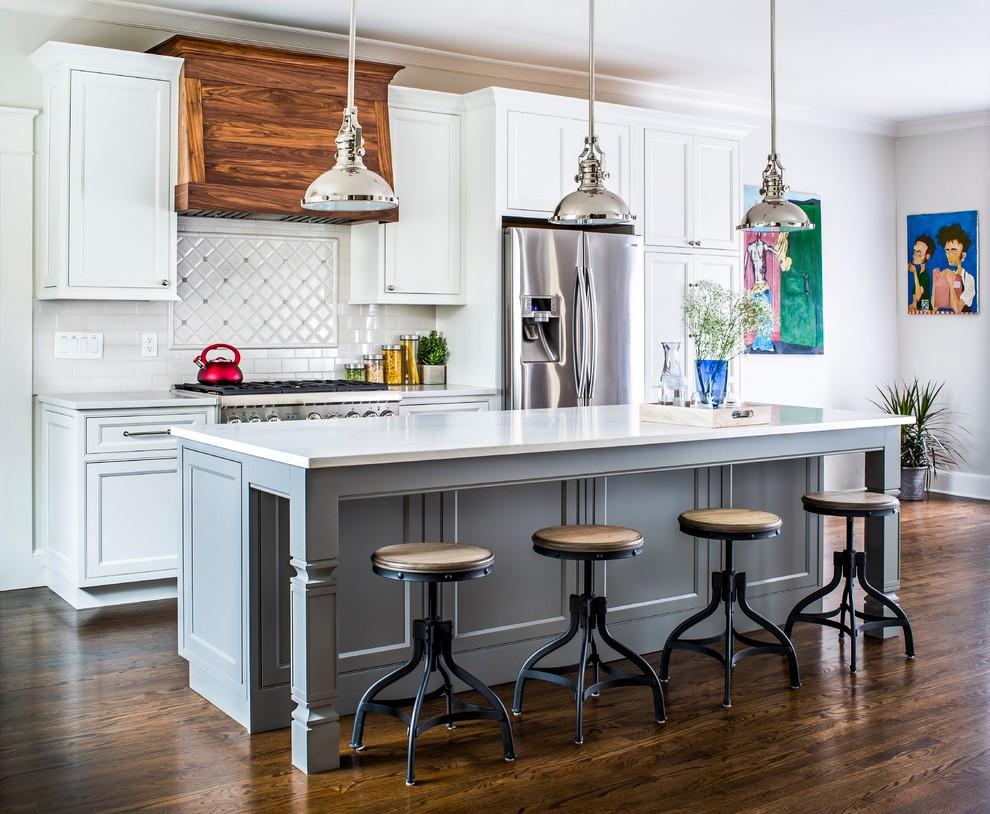 Стильные идеи дизайна интерьера кухни - дерево в интерьере