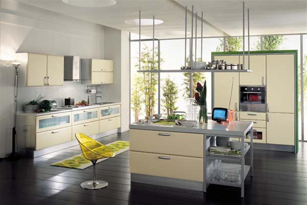 Оригинальный дизайн кухни в современном стиле