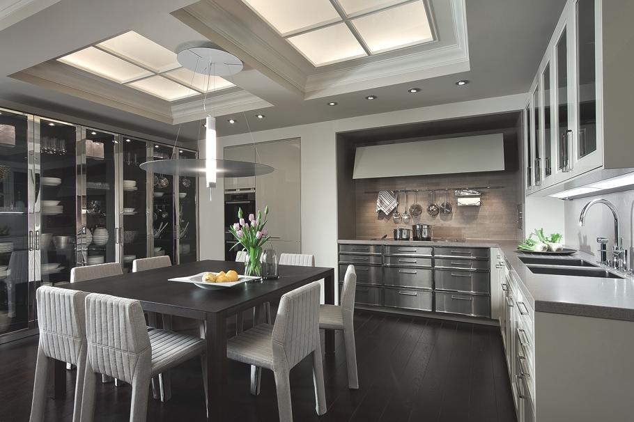 Минималистский дизайн кухни BeauxArts от SieMatic
