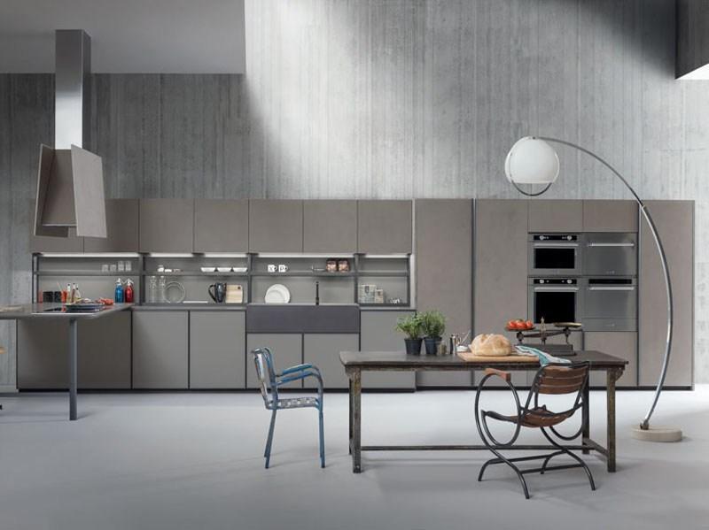 Мебель для кухни в минималистском стиле от дизайнера Стефано Каваццана