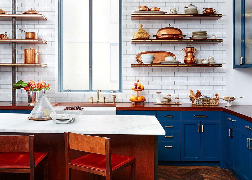Стильные металлические аксессуары для кухни