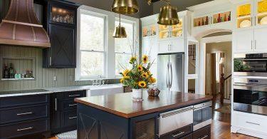 Металлические аксессуары для кухни: холодный и теплый блеск