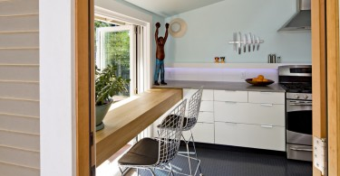 Современная кухня от студии Ogawa Fisher Architects