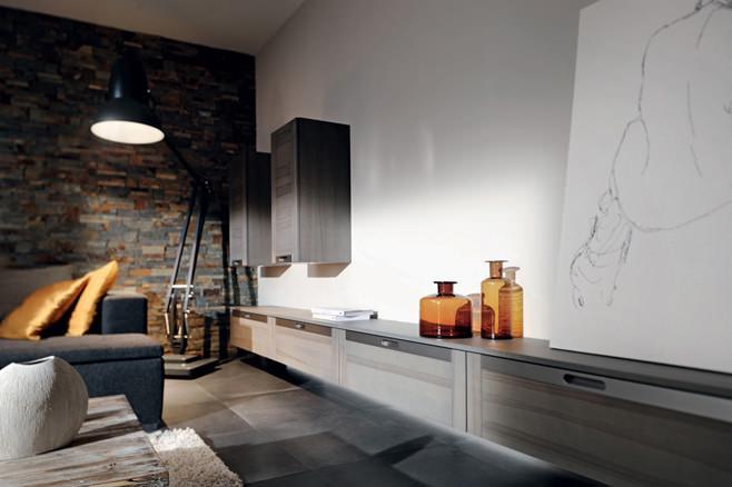 Роскошная деревянная кухня в стиле модерн от Arthur Bonnet
