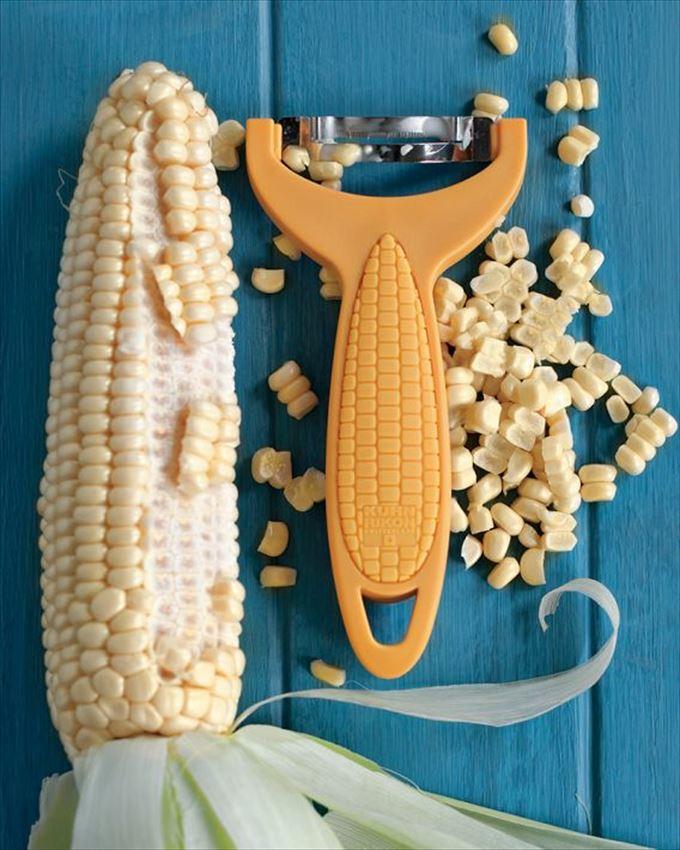 Прибор для очистки кукурузы
