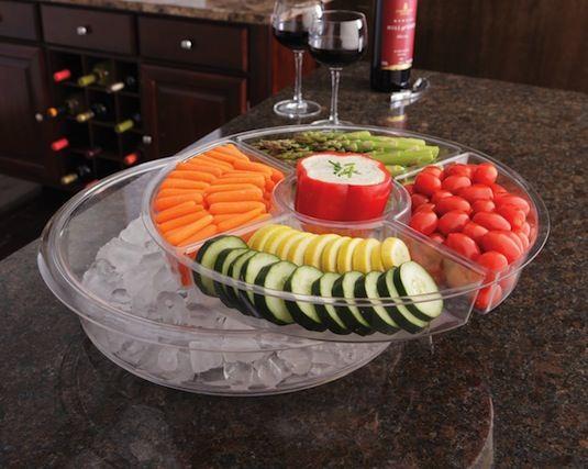 Прохладительное дно салатницы