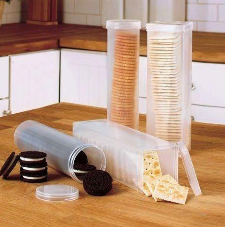 Пластмассовые контейнеры для крекеров