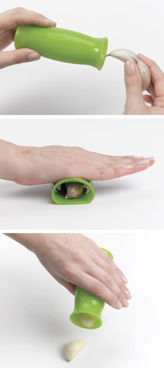 Прибор для очистки чеснока