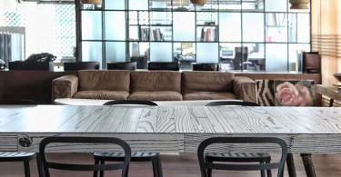 Стильный дизайн интерьера кухни Faliro Loft от Ese Studio