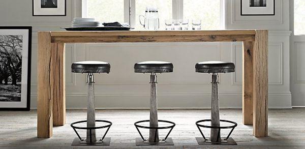 Барные стулья в необычном смешанном дизайне