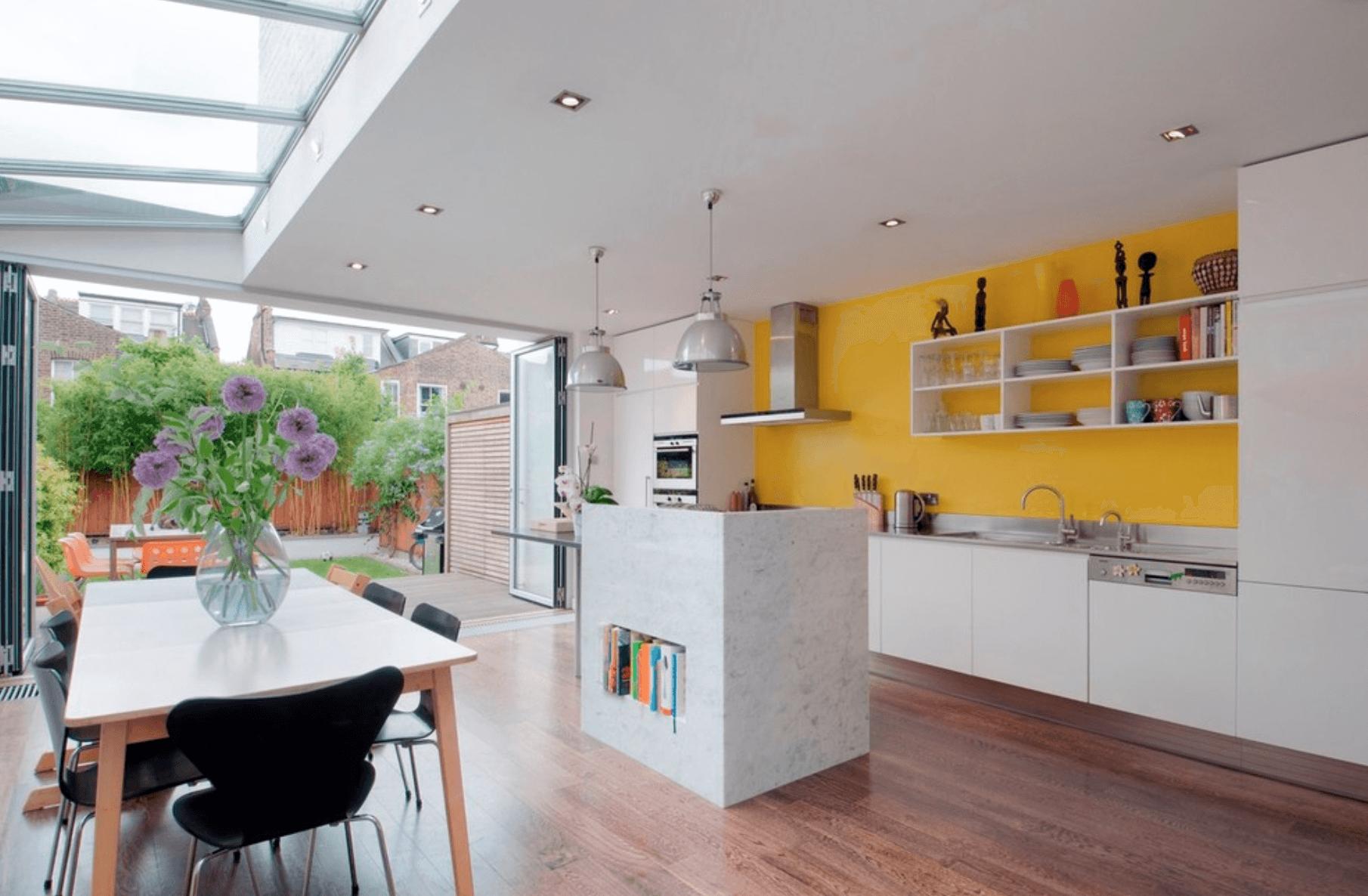 Модное цветовое решение кухни
