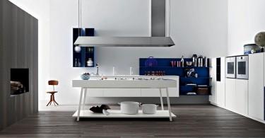 Дизайн интерьера кухни Kora от компании Cesar