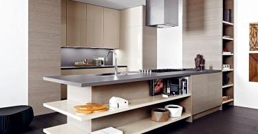 Восхитительный дизайн модульной кухни Lucrezia от Cesar
