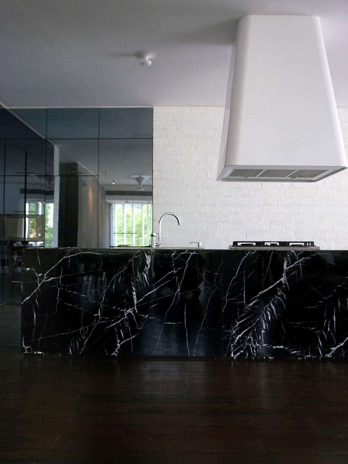 Мраморные столешницы для интерьера кухни - Фото 8
