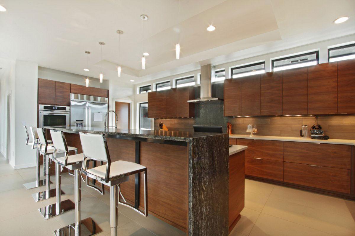Мраморные столешницы для интерьера кухни - Фото 9