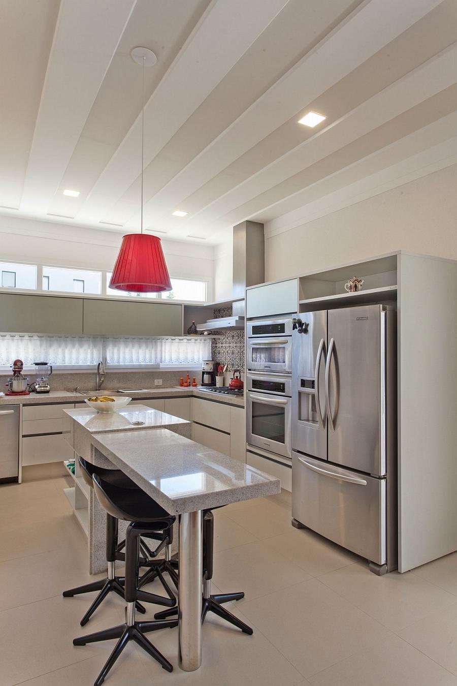 Мраморные столешницы для интерьера кухни - Фото 11
