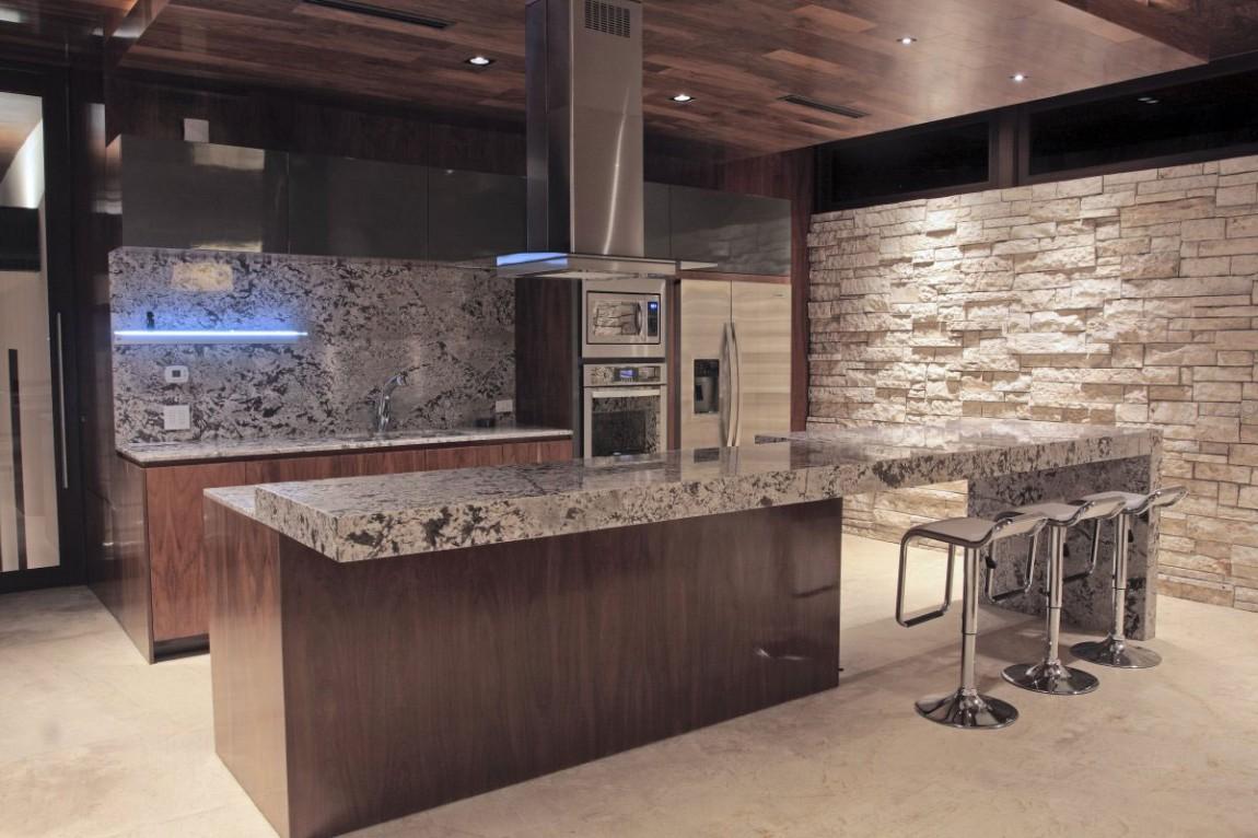 Мраморные столешницы для интерьера кухни - Фото 13