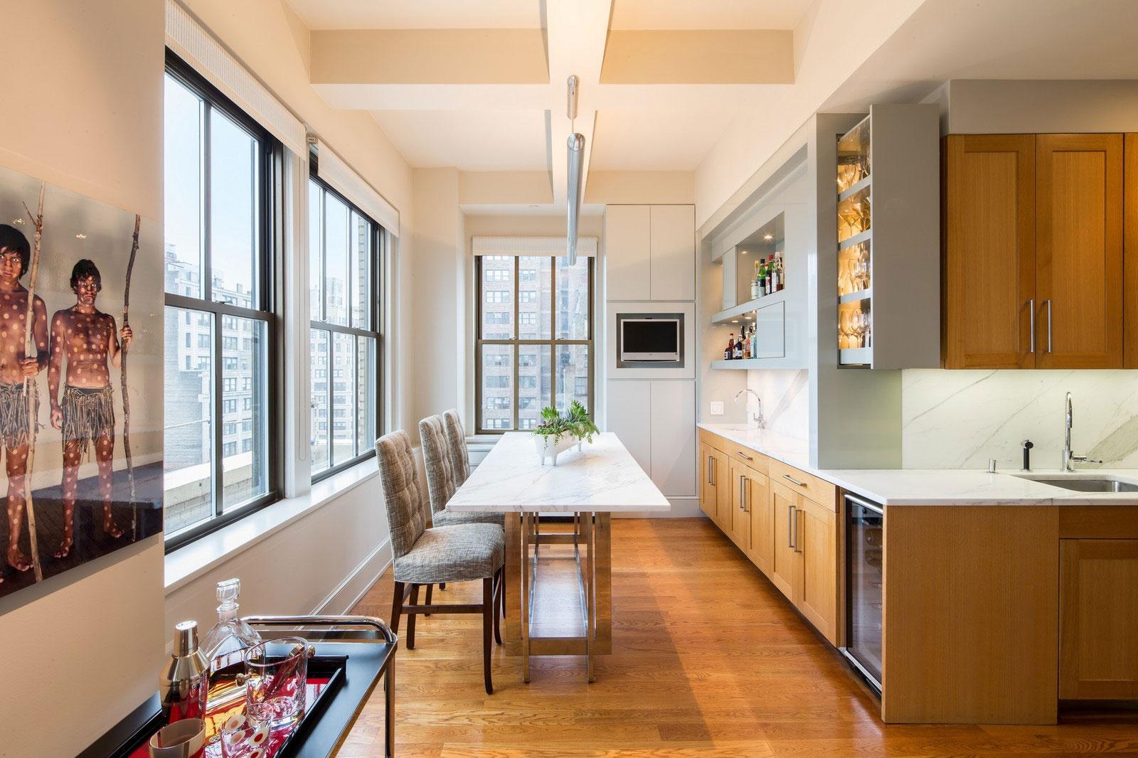 Мраморные столешницы для интерьера кухни - Фото 16
