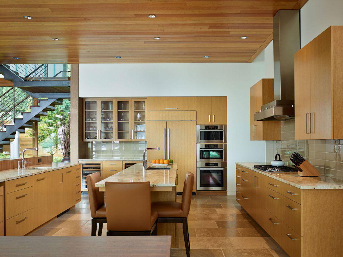 Мраморные столешницы для интерьера кухни - Фото 22