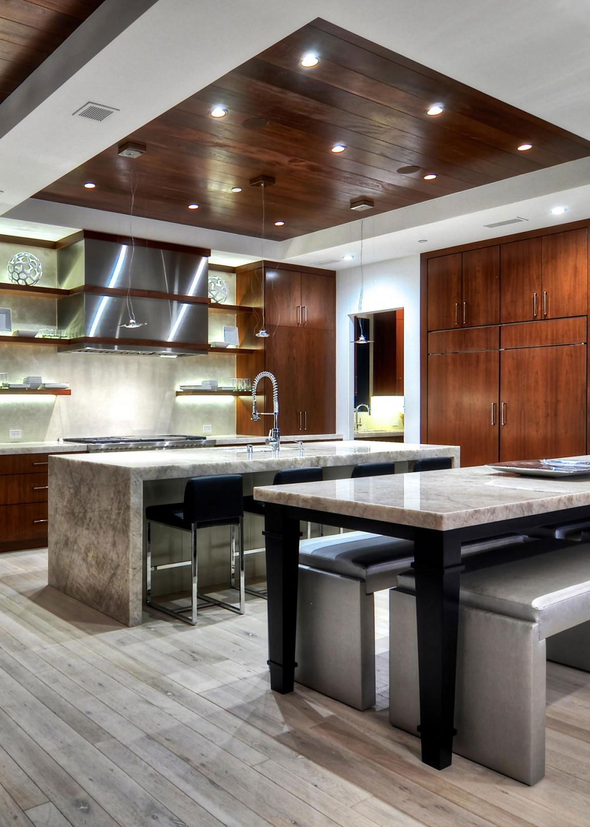 Мраморные столешницы для интерьера кухни - Фото 23