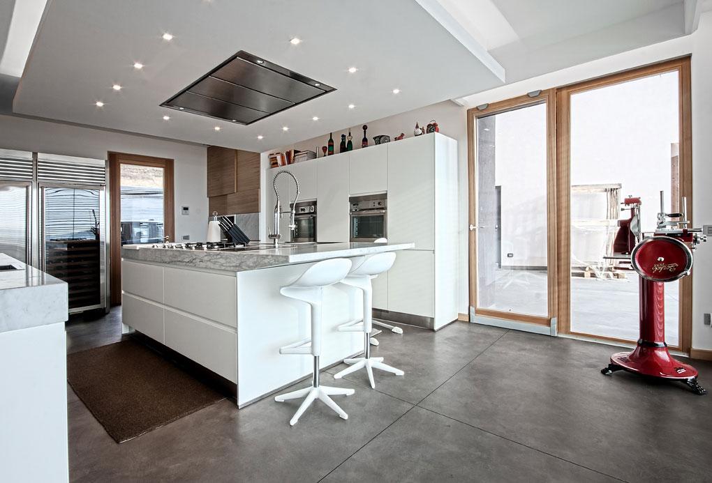 Мраморные столешницы для интерьера кухни - Фото 25