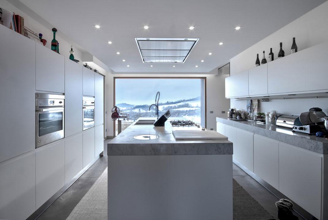 Мраморные столешницы для интерьера кухни - Фото 27