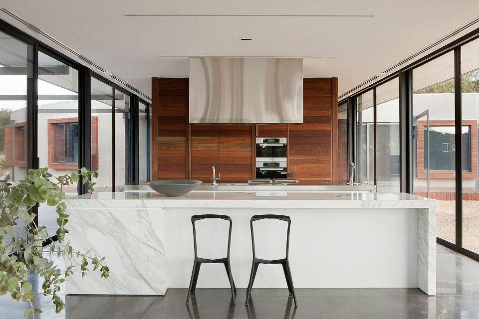Мраморные столешницы для интерьера кухни - Фото 29